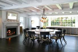 modern large round dining table mirror ottoman rugs chandelier 2018 also incredible trends ideas tray pictures