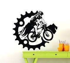 dirt bike decals for walls  on dirt bike wall art with dirt bike decals for walls wall ideas bike wall art design dirt bike
