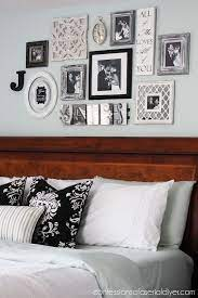bedroom gallery wall a decorating