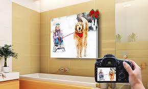 custom waterproof indoor outdoor canvas wall art