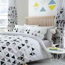 grey single bedding triangle single duvet cover set metric bedding white grey 2 in 1 design grey single bedding reef duvet cover