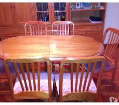 Juego de comedor - mesa y 6 sillas