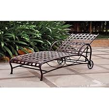rod iron furniture. wrought iron patio furniture chaise outdoor rod i