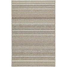 carnival stripe earthtone 5 ft x 7 ft area rug