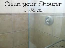 hard water spots on shower glass doors how to clean glass shower doors the easy way