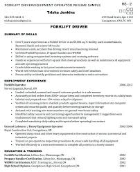Stand Out Resumes Adorable Sample Forklift Driver Cover Letter Forklift Operator Cover Letter