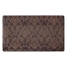 anti fatigue kitchen mats. Chain Damask 24-Inch X 36-Inch Anti-Fatigue Gel Kitchen Mat In Anti Fatigue Mats