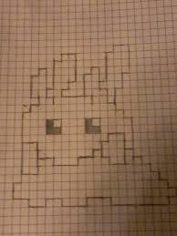 Goomy On Graph Paper