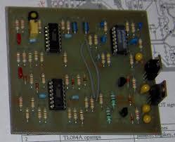 building recreational flight sim lvdt circuit board