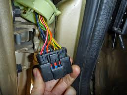 1999 2004 wj driver door boot wiring fix (diy) jeepforum com 2004 Jeep Grand Cherokee Door Wiring Harness Diagram now the most unnerving step of the job (no turning back!) cut the cab side of the connector off so you can pull the wiring back into the cab 2004 jeep grand cherokee door wiring diagram