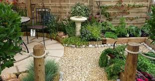 beautiful oriental style garden