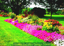 Small Picture Flower Bed Garden Layouts Flower Bed Designs For Full Sun