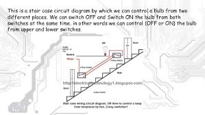stair case wiring and tubelight wiring diagram 8