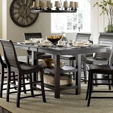 distressed black dining room table. Willow Rectangular Counter Height Table (Distressed Black) Distressed Black Dining Room I