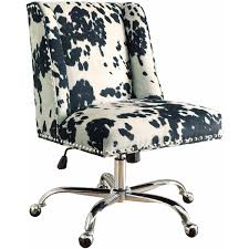 leopard print office chair. linon draper office chair, multiple finishes, 19.75 - 23.75 inch seat height walmart.com leopard print chair r