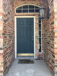 decorative door kick plates deck the door decor