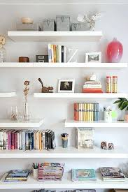 much storage lack floating shelf design gallery walls ikea white shelves small