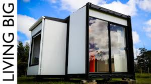Pod Home Amazing 20ft Shipping Container Home The Pod Tainer Youtube