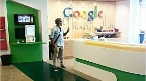 office reception interior. Google \u2013 Chicago, Illinois, USA Office Reception Interior