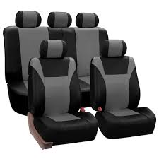 fh group pu leather 47 in x 23 in x 1 in racing