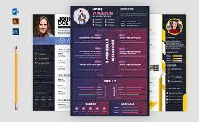 Modern Resume Infographics Design Modern Or Infographic Cv Resume Within 24 Hours