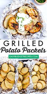 grilled potatoes in foil easy budget