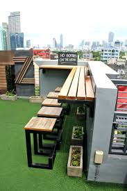 inspiration condo patio ideas. Patio Ideas: Small Condo Garden Ideas Roofdeck Bar At The Inspiration