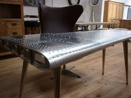industrial office furniture. deluxe furniture aviator aluminium wing writing desks 170cm x 91cm code15071 industrial officeindustrial office e