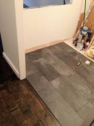 Attractive The Kitchen Floor Looks Like Slate But Its Really A Pergo Textured Laminate  Floor. My Goal Was To Avoid Using A Tile Guy And Take Full A.