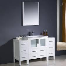54 Bathroom Vanity Cabinet 54 Bathroom Vanity Single Sink Globorank