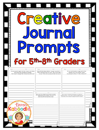 Creative Writing Prompts  Story Starters for Kids   Language Arts