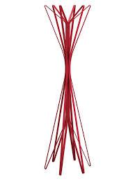Red Coat Rack Zanotta Coat Rack Aster Red 100 hooks by Alessandro Dubini 100 37