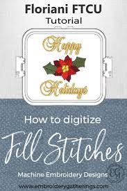 How To Digitize Embroidery Designs Learn To Digitize With Floriani Ftcu Tutorials And Videos