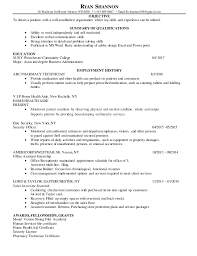 Bottle Service Resume Cool RyanShannonResume48