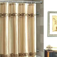 blue and brown striped shower curtain brown and tan shower curtain blue