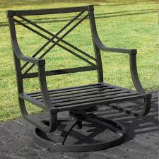 wrought iron rocker patio chairs designs black metal porch chair with wide seat and back well