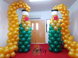 Baby Bottle Balloon Decoration Grand wine balloon sculpture for grand opening Singapore 45