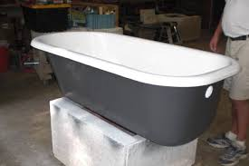 bathtub refinsh cast iron project 3