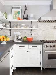 Countertop Color In Grey And White Kitchen Cabinets For Kitchen