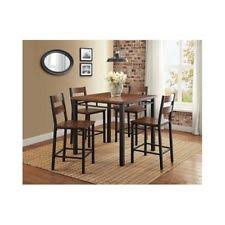 quotthe rustic furniture brings country. Dining Table Set For 4 Counter Height Pub Style Breakfast Kitchen Nook Furniture Quotthe Rustic Brings Country