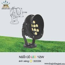 Đèn Pha Cỏ LED 12W Anfaco ɸ155