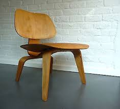 eames chair ebay original. charles eames lcw lounge chair plywood 5-2-5 evans company birch birke vintage ebay original
