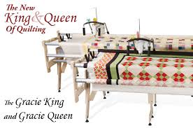 The metal Grace Majestic frame is a solid, heavy duty frame that's ... & Gracie King and Queen Quilting Frames Adamdwight.com