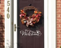 thanksgiving front door decorationsFall door decor  Etsy