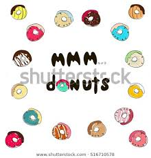 Mmm Donuts Inscription Stock Quotes Donuts Stock Vector Royalty Fascinating Stock Quote For T