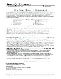 Sample Property Manager Resume Cover Letter Assistant Property