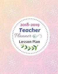 Magrudy Com 2018 2019 Teacher Planner Lesson Plan