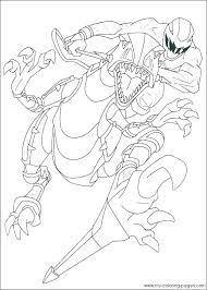 Coloring Pages Of Power Rangers Power Rangers Printable Ng Pages