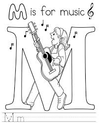 Small Picture Music Coloring Sheets Music Free Alphabet Coloring Pages Music