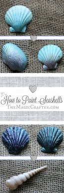 How to Paint Seashells  DIY Summer Mermaid Beach Crafts  Quick & Easy  Video Tutorial